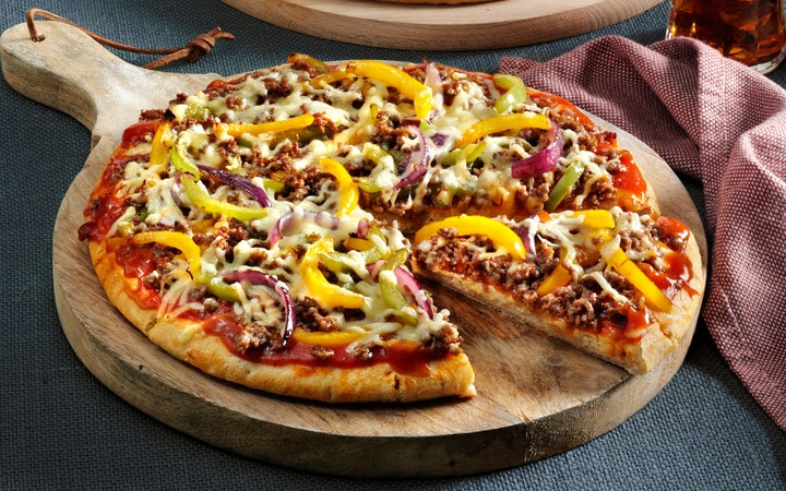 American Pizza 'Beef & cheddar' (Numéro d'article 16693)